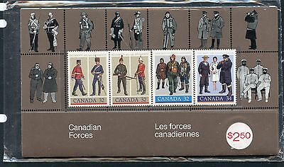 Weeda Canada Thematic Collection #33, 1985 Canadian Forces folder CV $5