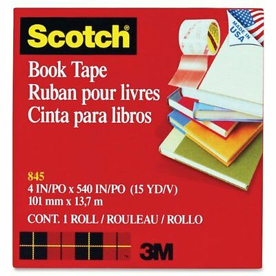 Scotch® Book Tape 845, 4 Inches x 15 Yards...NEW