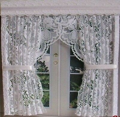 Dollshouse Curtains French Door Nets