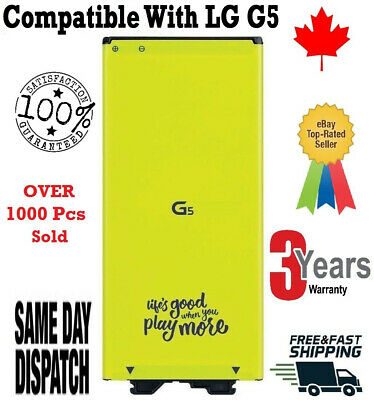 Original OEM LG G5 Replacement Battery H820 H860 H868 H960 BL-42D1F 2800mAh