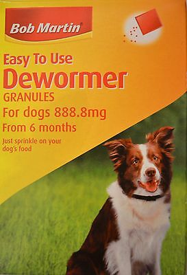 Dewormer Bob Martin for Dogs from 6 months!