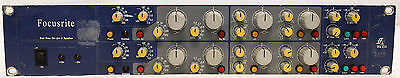 Focusrite ISA 215 Dual Channel Mic Microphone Preamp and EQ Equalizer Rack