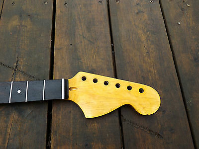 Fatboy Canadian Rosewood Cbs Greco Headstock Strat Shred Neck Steel Frets