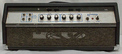 Ampeg B-25 All Tube Bass Guitar Amplifier Head Vintage Blueline