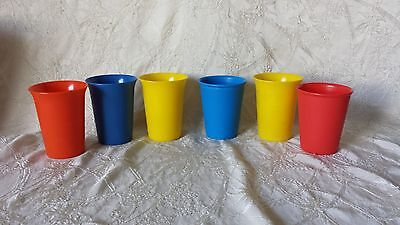 Vintage Tupperware 4 pc Set Bell Cups 109 2 First Years Cups