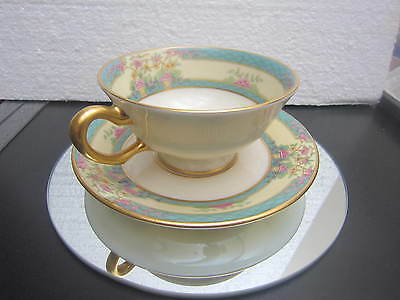 LENOX MONTICELLO 'Cup & Saucer' ONLY ONE SET LEFT,GOLD STAMP post 1953 PATTERN,