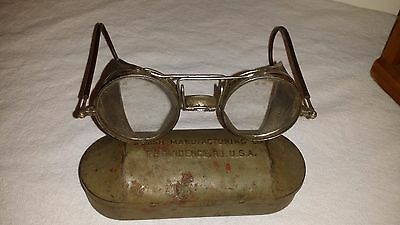 Welsh Manufacturing Co.  Safety Goggles Steampunk Glasses