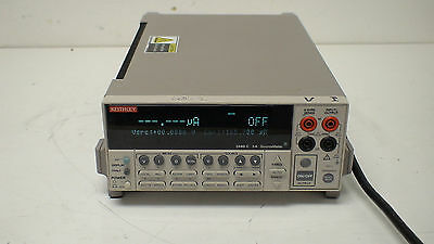 Keithley 2440-C {± 200mV to ± 40V}/{± 10µA to ± 5A}/50 W SourceMeter w/ Contact