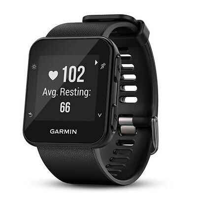 Garmin Forerunner 35 GPS Running watch with Wrist-based Heart Rate Black