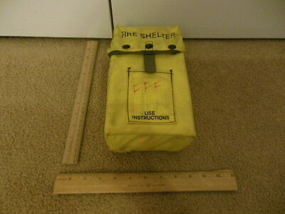 Fire Shelter Wildland Brush Fire Shelter FSS NEW Unused in Carrying Case