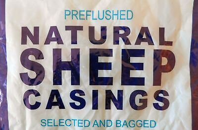 Fresh LAMB Sheep natural casings for over 40 Lbs of breakfast sausage or weiners