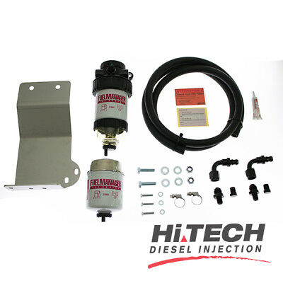 Fuel Manager Diesel Filter Kit FM601DPK Isuzu D-Max 130kw (all years)