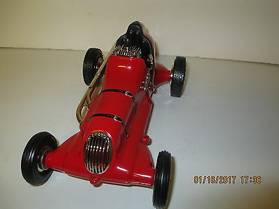 Vintage tether raace car