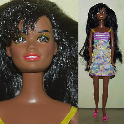"Barbie 11.5"" CHRISTIE DOLL Nikki AA Dress & Shoes for OOAK Custom Repaint"