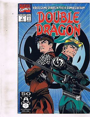 Lot of 4 Double Dragon Marvel Comic Books #1 2 3 6 BH51