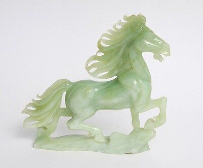 Antique Jade Horse and Bird Statues (Asian/Chinese/Japanese)