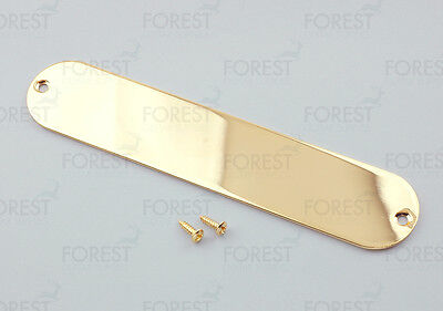 Fender Telecaster ® metal control plate, no holes, gold 32 x 160 mm HC001