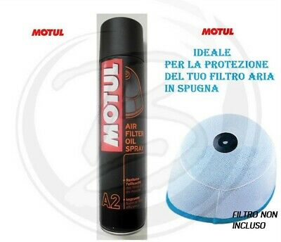 Motul A2 Spray 400 Ml Bomboletta Olio Spray Filtro Aria
