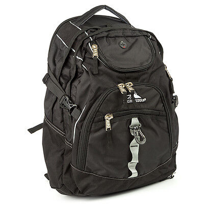 NEW High Sierra Access Black Laptop Backpack