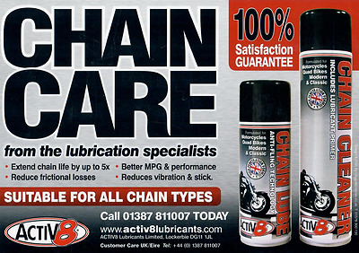 Activ8 Chain Care Package
