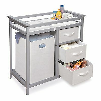 Baby Furniture Changing Table Diaper Table Storage Dresser Organizer Daycare NEW