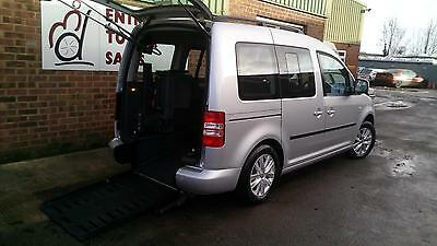 2012 Volkswagen Caddy Life Up Front Passenger Disabled Wheelchair Vehicle Car