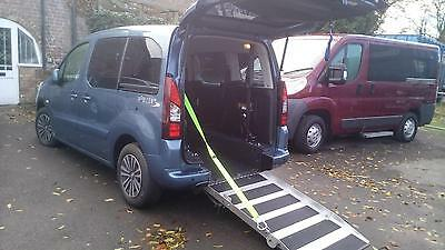 2013 Peugeot Partner Tepee Diesel Automatic Disabled Wheelchair Access Vehicle