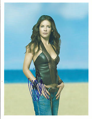 EVANGELINE LILLY SIGNED 8 x10 PHOTO COA N.A. # 347313