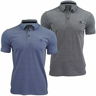 Mens Polo Shirt by Brave Soul /'Escalus/' Short Sleeved Collared New