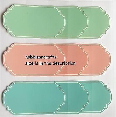 Recollections Stickers - Write On Paper Label - Chalkboard Labels