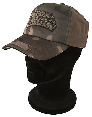 Fox Chunk Camo Solid Back Baseball Cap