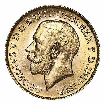 South Africa George V Gold Coin 1927-SA Gold Sovereign