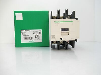 LC1D258G7 Schneider Contactor, 440VAC, 80A, 3-Pole, 120VAC Coil ( New in Box )