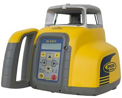 Spectra GL412N Self-Leveling Single-Slope Laser Level Kit w/HL760 Receiver
