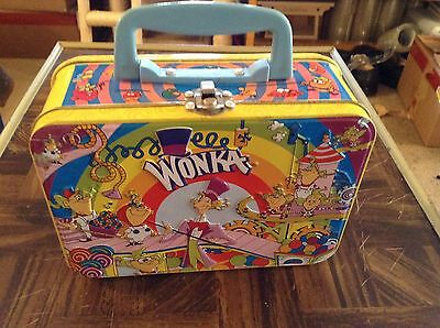 Wonka candies small metal lunchbox
