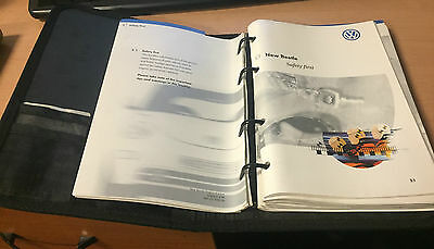 2001 2002  Vw Beetle Original Owners Handbook Manual User Guide & Wallet Folder
