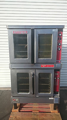 Blodgett Mark V-111 & Southbend ES-10PC Double-Stack Convection Oven in Electric