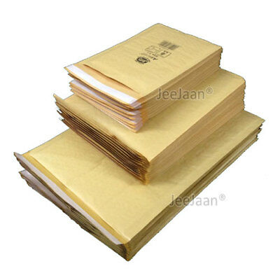 Genuine Jiffy Bags Airkaft Gold Padded Bubble Envelopes Mailing Mailer Bags