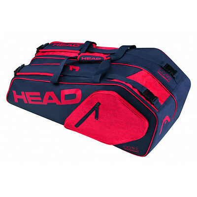 HEAD Core 6R Combi Tennistasche Navy Red