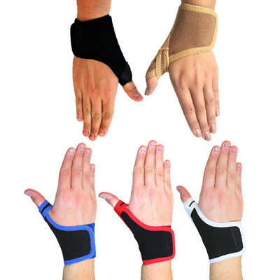 New Solace Bracing Compression Boxing MMA Thumb Brace Sports Support Strap