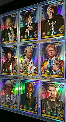 Dr Doctor Who Alien Armies Complete 260 Trading Card Set All Chase and Basic