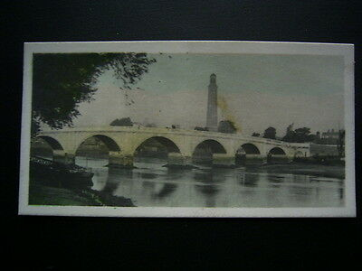 Cavenders Cigarette Card 1926 F108 River Valleys No31 Old Kew Bridge (e18)