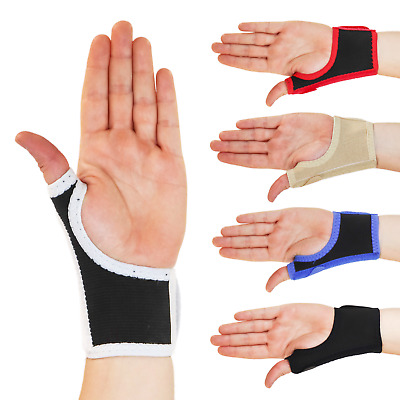 New Solace Bracing Compression Golf Sports Thumb Strain Brace Support Strap