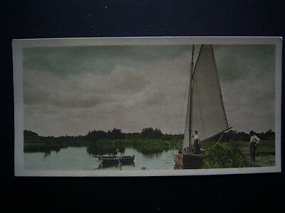 Cavenders Cigarette Card 1926 F108 River Valleys No90 The Broads (e18)