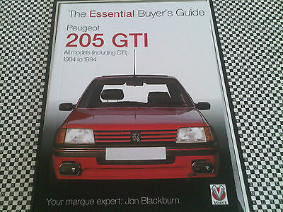 Peugeot 205 GTi Essential Buyer's Guide Handbook Sized Complete Guide