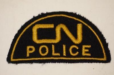 Canadian National Railway CN Police Patch Obsolete 3