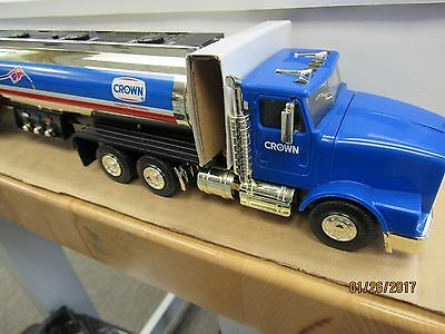 1999 Crown Talking Tanker Toy Truck Limited Ed Gold  (9175-Closet-Y)