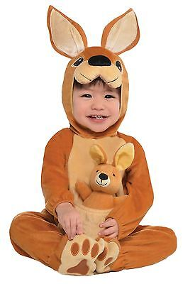 Bambini Bambino Canguro Jumpin' Joey Costume Travestimento Animale Tuta Intera