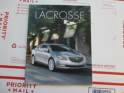 2016 16 Buick Lacrosse Dealer Show Room Brochure 30+ Pages