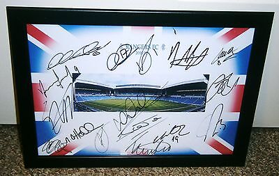 Rangers Fc   2016/17  Signed Photo Including Toral & Hyndman ++++